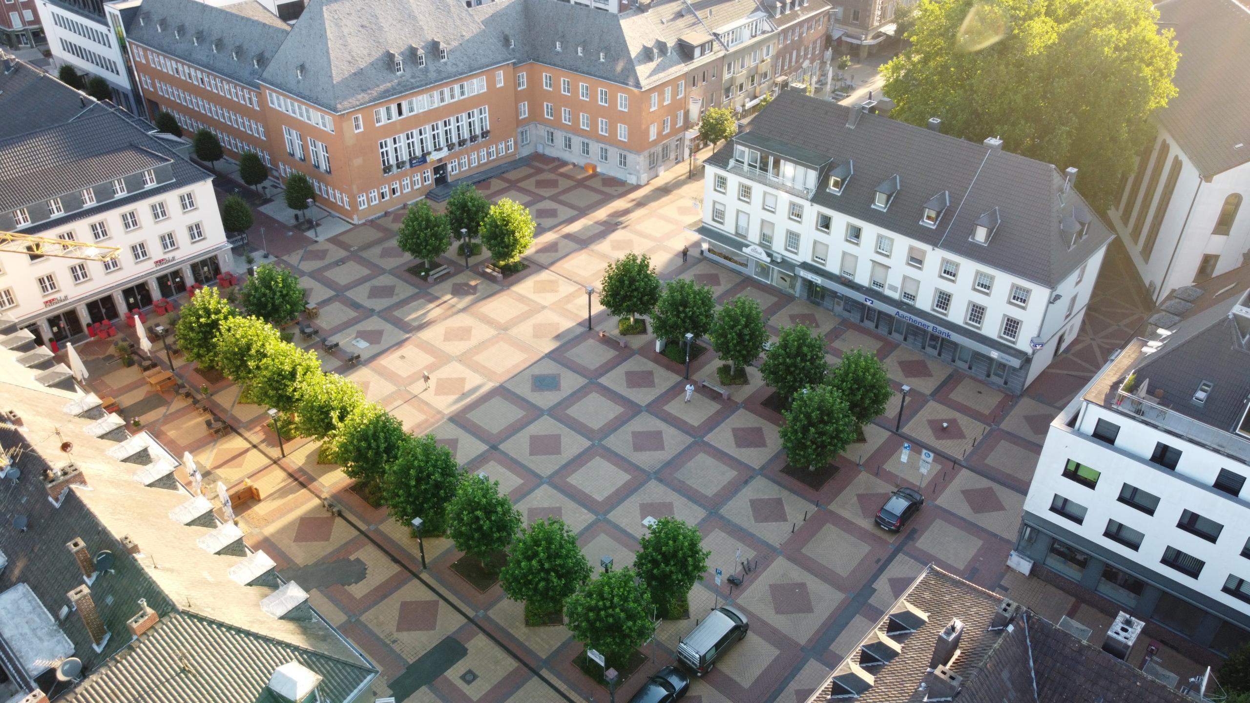 Marktplatz von oben